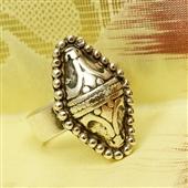 Srebrny pierścionek Beduin