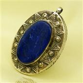 Delikatny wisiorek z lapis lazuli