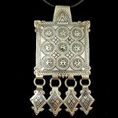 Księżycowy amulet - talizman płodności - Berber