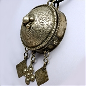 Stary srebrny wisior berberyjski