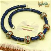 Lapis lazuli: naszyjnik z Nepalu