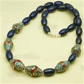 Orientalny naszyjnik z lapis lazuli