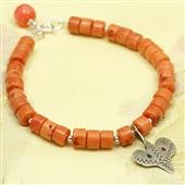 Amulet Sahrawi; bransoletka z korala