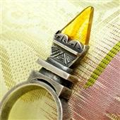 Tisek: Srebrny pierścionek z Mali