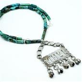 Magiczny Zar: Amulet w turkusach