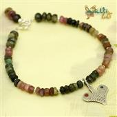 Sahrawi: bransoletka z turmalinu z amuletem