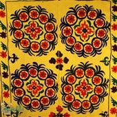 Tkanina dekoracyjna Suzani IX