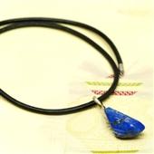 Męski naszyjnik z wisiorkiem lapis lazuli