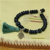 Hamsa: lapis lazuli, amulet i chwost