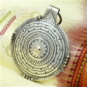 Srebrny wisior Berber
