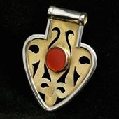 Wisior amulet Asyk z Turkmenistanu