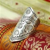 Beduiński duży pierścionek