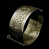 Stara srebrna bransoleta Berber