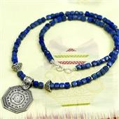 Etniczny naszyjnik lapis lazuli: Siwa