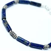 Męska bransoletka z lapis lazuli