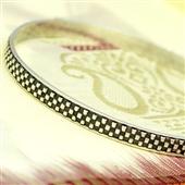 Minimalistyczna bransoletka koło