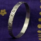 Berber: srebrna bransoletka koło III