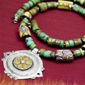Berber: turkus, srebro i szkło Murano