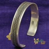 Orientalna srebrna bransoletka IV