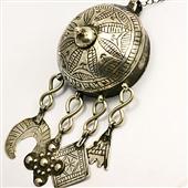 Duży srebrny wisior Berber