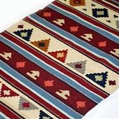 Beduin wełniany kilim/dywan IV