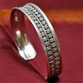 Orientalna bransoletka ze srebra