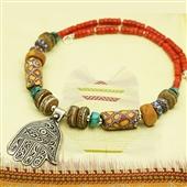 Biżuteria etniczna: naszyjnik etniczny miks!