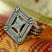 Kwadratowy pierścionek (Siwa)