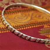Berber: stara zdobiona bransoletka koło