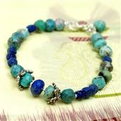 Turkus i lapis lazuli: Etniczna biżuteria