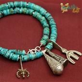 Berber: naszyjnik z turkusu