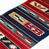 Beduin wełniany kilim/dywan II