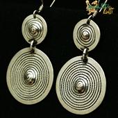 Berber: kolczyki podwójne spirale