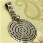 Spirala: stary berberyjski wisior / amulet