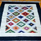 Beduiński wełniany kilim/dywan III