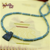 Naszyjnik męski z lapis lazuli