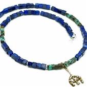 Męski naszyjnik z amuletem