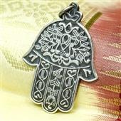 Ręka Fatimy: srebrny wisiorek